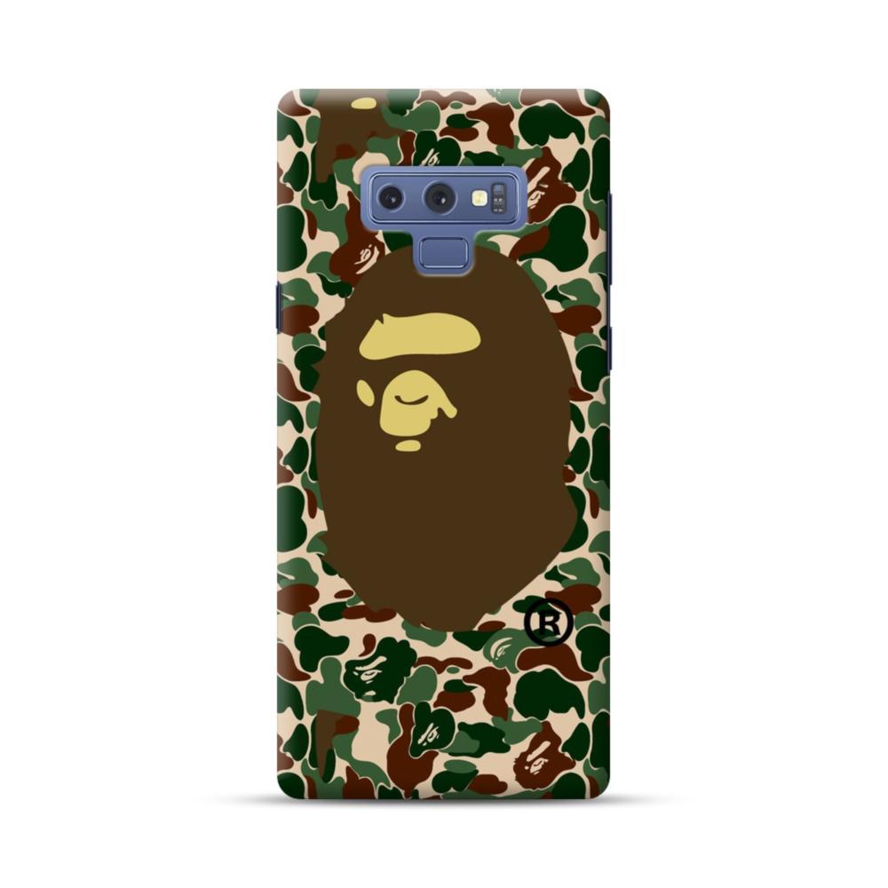 new products b0084 dd16c Bape Logo Camo Samsung Galaxy Note 9 Case