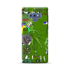 Rare pepe the frog seamless Samsung Galaxy Note 9 Case