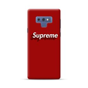 Supreme Red Cover Samsung Galaxy Note 9 Case