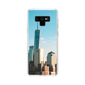 New York Skyline Samsung Galaxy Note 9 Clear Case