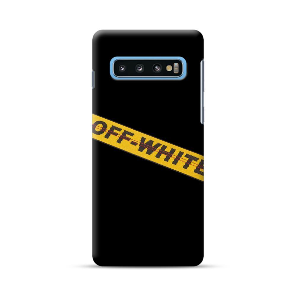 Off White Lining Samsung Galaxy S10 Case Caseformula