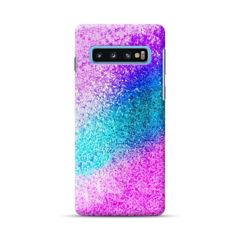 Glitter Galaxy Samsung S10 Case