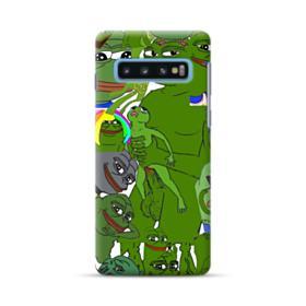 Rare pepe the frog seamless Samsung Galaxy S10 Case