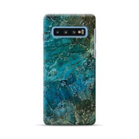 Green Marble Samsung Galaxy S10 Case