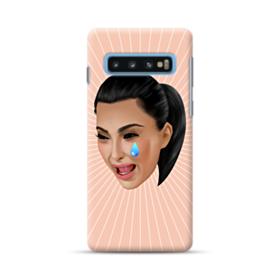 Crying Kim emoji kimoji Samsung Galaxy S10 Case