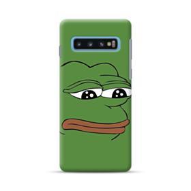 Sad Pepe frog Samsung Galaxy S10 Case