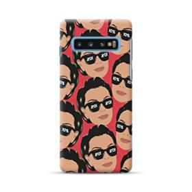 Kris jenner funny meme emoji Samsung Galaxy S10 Case