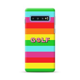 Golf Rainbow Samsung Galaxy S10 Case