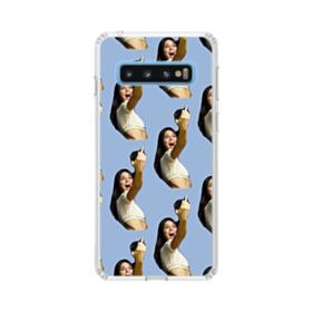 Kendall Jenner funny  Samsung Galaxy S10 Clear Case