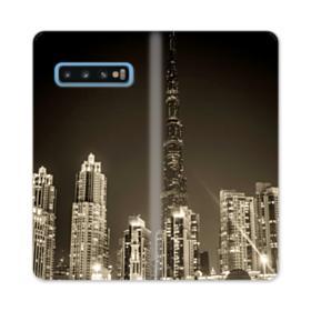 City night skyline Samsung Galaxy S10 Flip Case