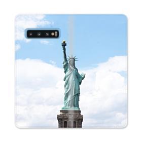 Statue of Liberty Samsung Galaxy S10 Flip Case