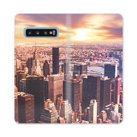 New York Skyline Samsung Galaxy S10 Flip Case