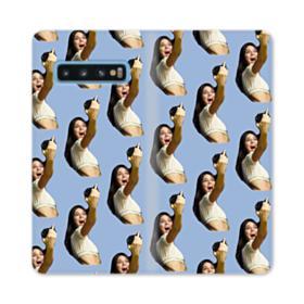 Kendall Jenner funny  Samsung Galaxy S10 Flip Case