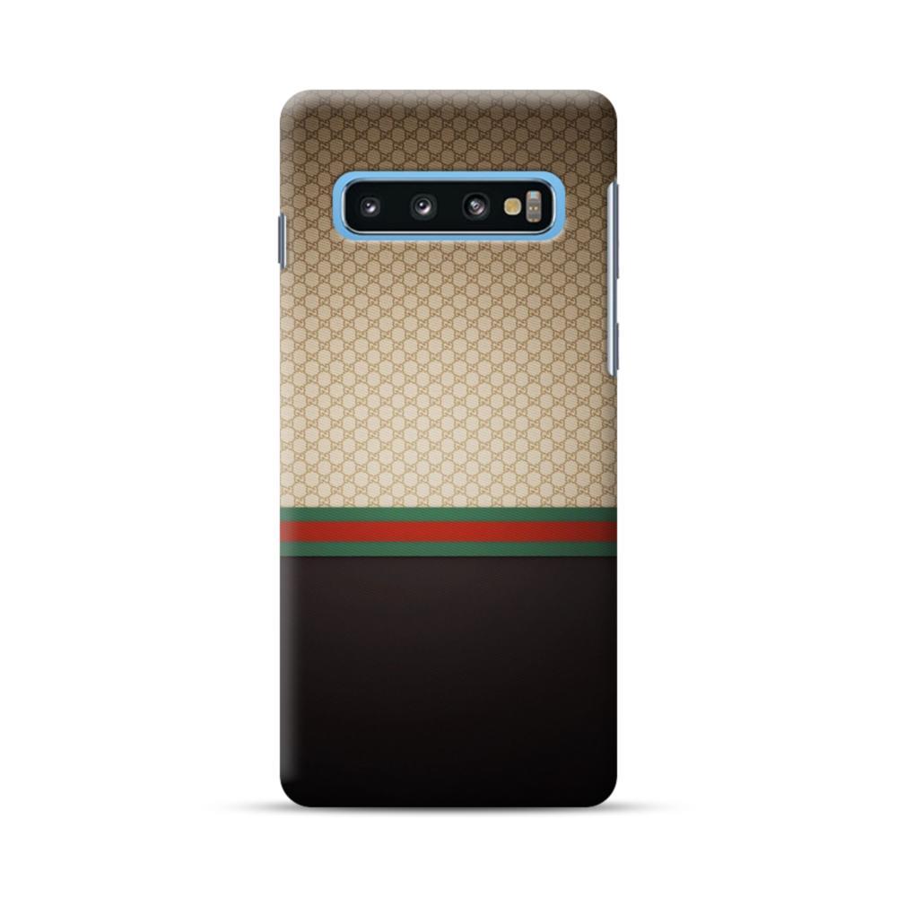 hot sale online d0992 21dfe Gucci Pattern Samsung Galaxy S10 Plus Case