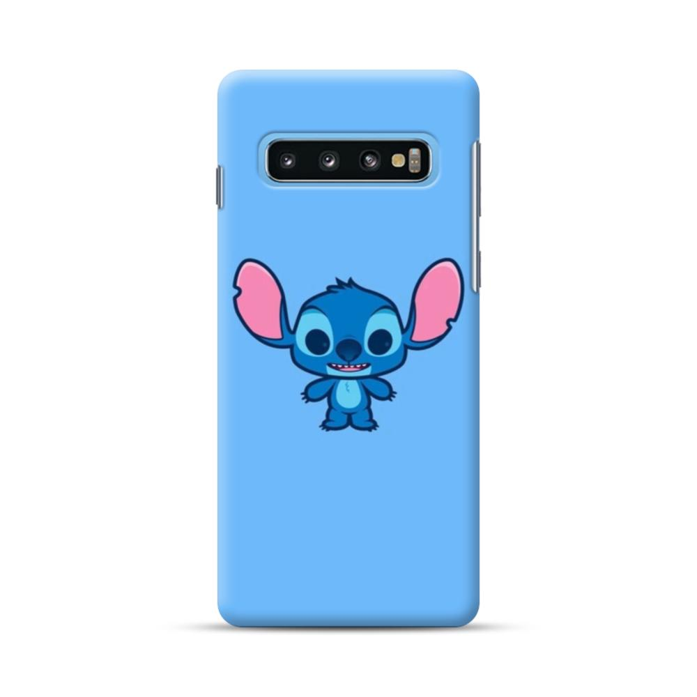 56493556 stitch big ears samsung galaxy s10 plus case 1