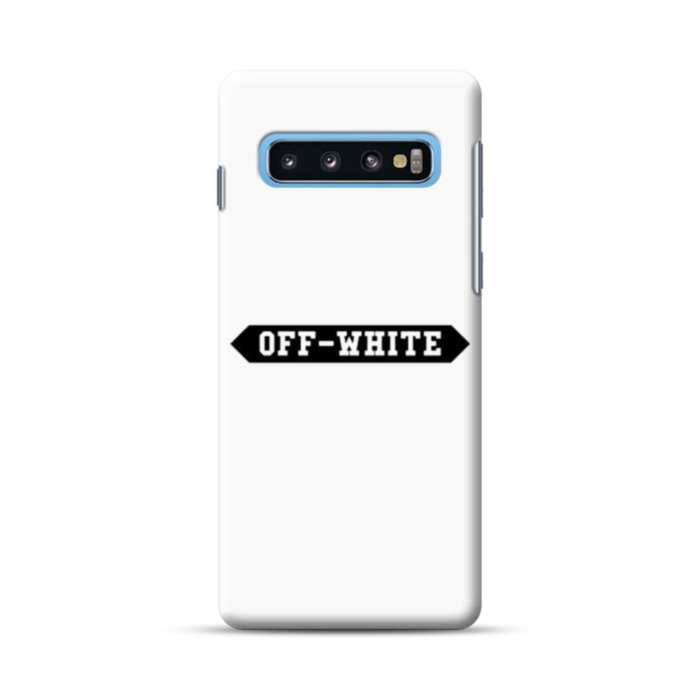 Off White Banner Samsung Galaxy S10 Plus Case Caseformula