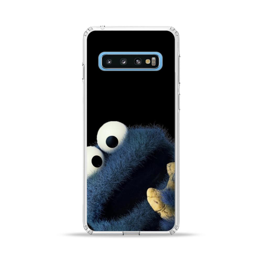 Cookie Monster Samsung Galaxy S10 Plus Clear Case