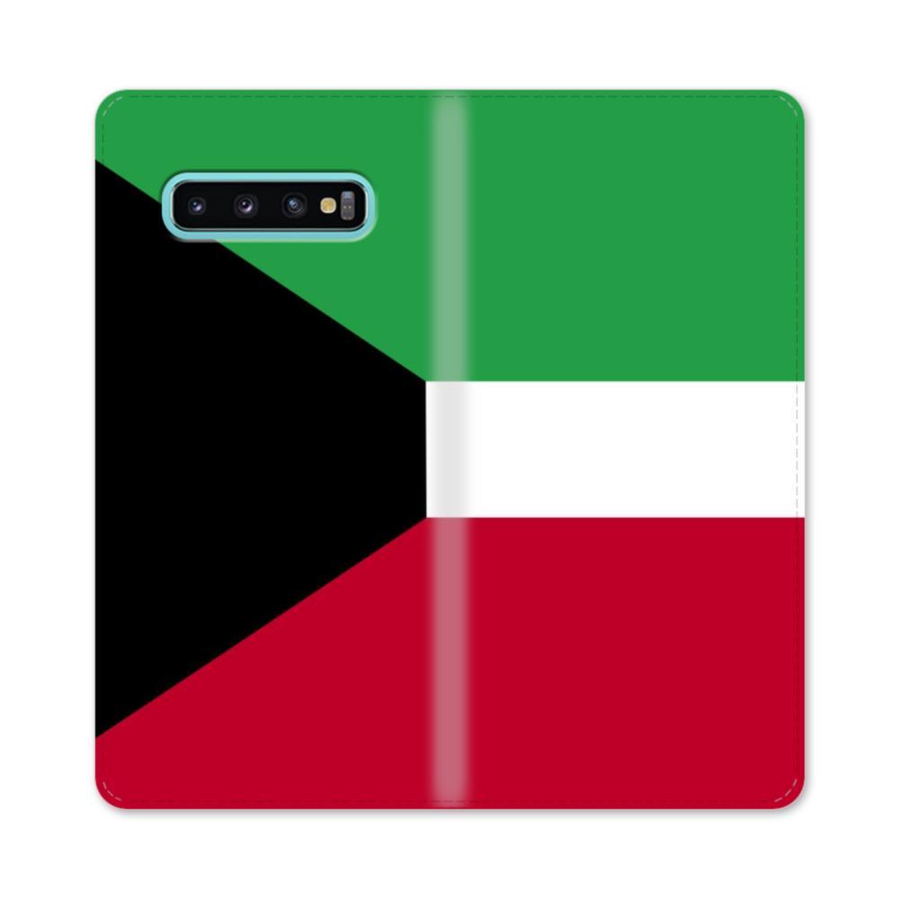 Flag of Kuwait Samsung Galaxy S10 Plus Flip Case