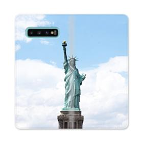 Statue of Liberty Samsung Galaxy S10 Plus Flip Case