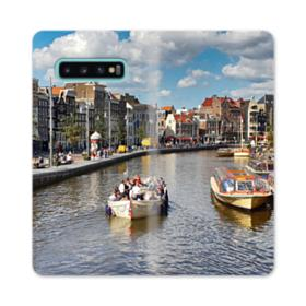 Amsterdam River View Samsung Galaxy S10 Plus Flip Case