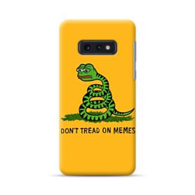 Pepe the frog don't tread on memes Samsung Galaxy S10e Case