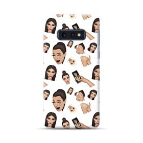 Kim Kardashian Emoji Kimoji seamless Samsung Galaxy S10e Case