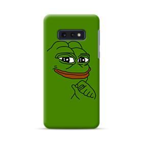 Smug Pepe Frog Funny Meme Samsung Galaxy S10e Case