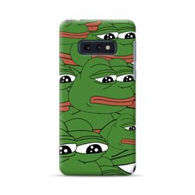 Sad Pepe frog seamless Samsung Galaxy S10e Case