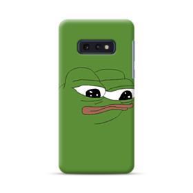 Sad Pepe frog Samsung Galaxy S10e Case