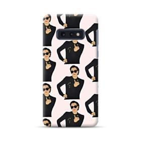 Kris Jenner middle finger meme Samsung Galaxy S10e Case