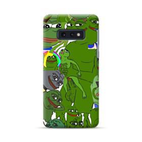Rare pepe the frog seamless Samsung Galaxy S10e Case