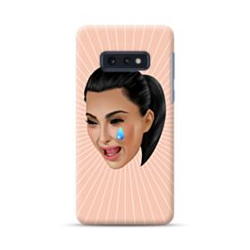 Crying Kim emoji kimoji Samsung Galaxy S10e Case