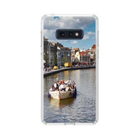 Amsterdam River View Samsung Galaxy S10e Clear Case