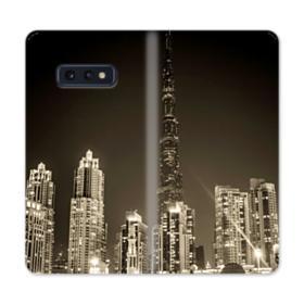 City night skyline Samsung Galaxy S10e Flip Case