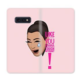 Crying Kim emoji kimoji meme  Samsung Galaxy S10e Flip Case