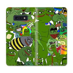Rare pepe the frog seamless Samsung Galaxy S10e Flip Case