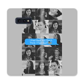 Funniest Kim Kardashian meme Samsung Galaxy S10e Flip Case