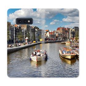 Amsterdam River View Samsung Galaxy S10e Flip Case
