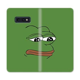 Sad Pepe frog Samsung Galaxy S10e Flip Case