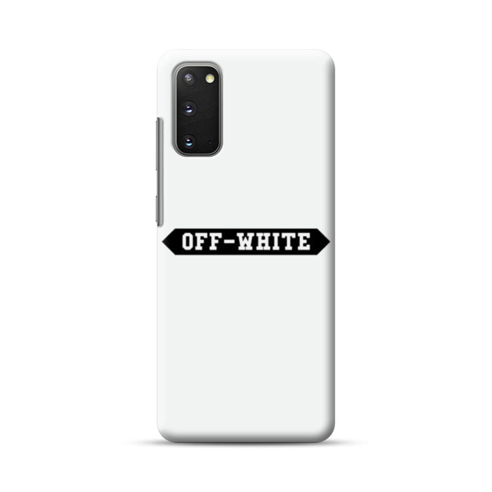Off White Banner Samsung Galaxy S20 Case Caseformula