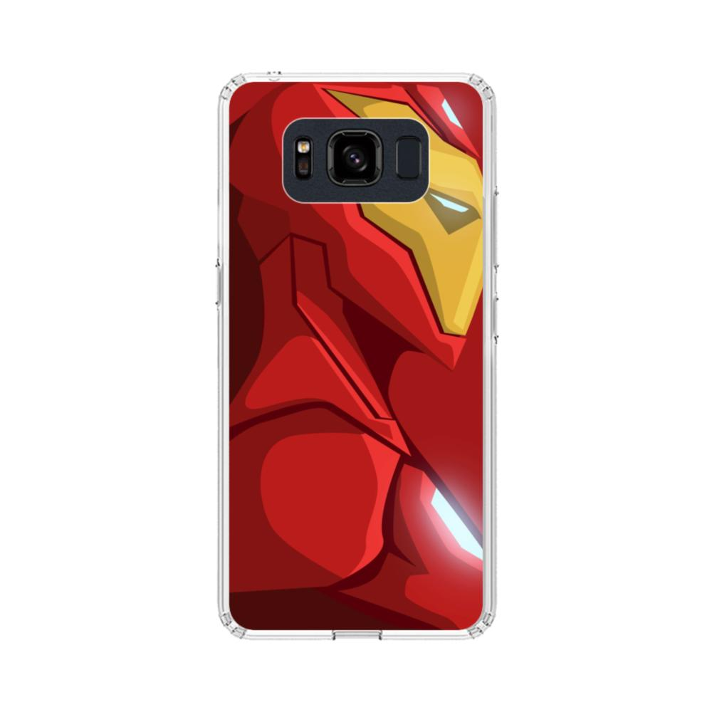 new products 507ee 2b83e Iron Man Samsung Galaxy S8 Active Case