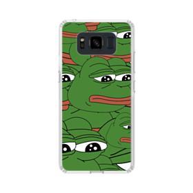 Sad Pepe frog seamless Samsung Galaxy S8 Active Case
