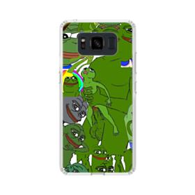 Rare pepe the frog seamless Samsung Galaxy S8 Active Case