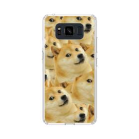 Doge meme seamless Samsung Galaxy S8 Active Case
