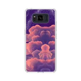 Psychedelic Clouds Illustration Art Samsung Galaxy S8 Active Case
