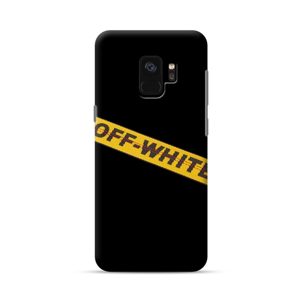 watch 0bed2 35f64 Off White Lining Samsung Galaxy S9 Case