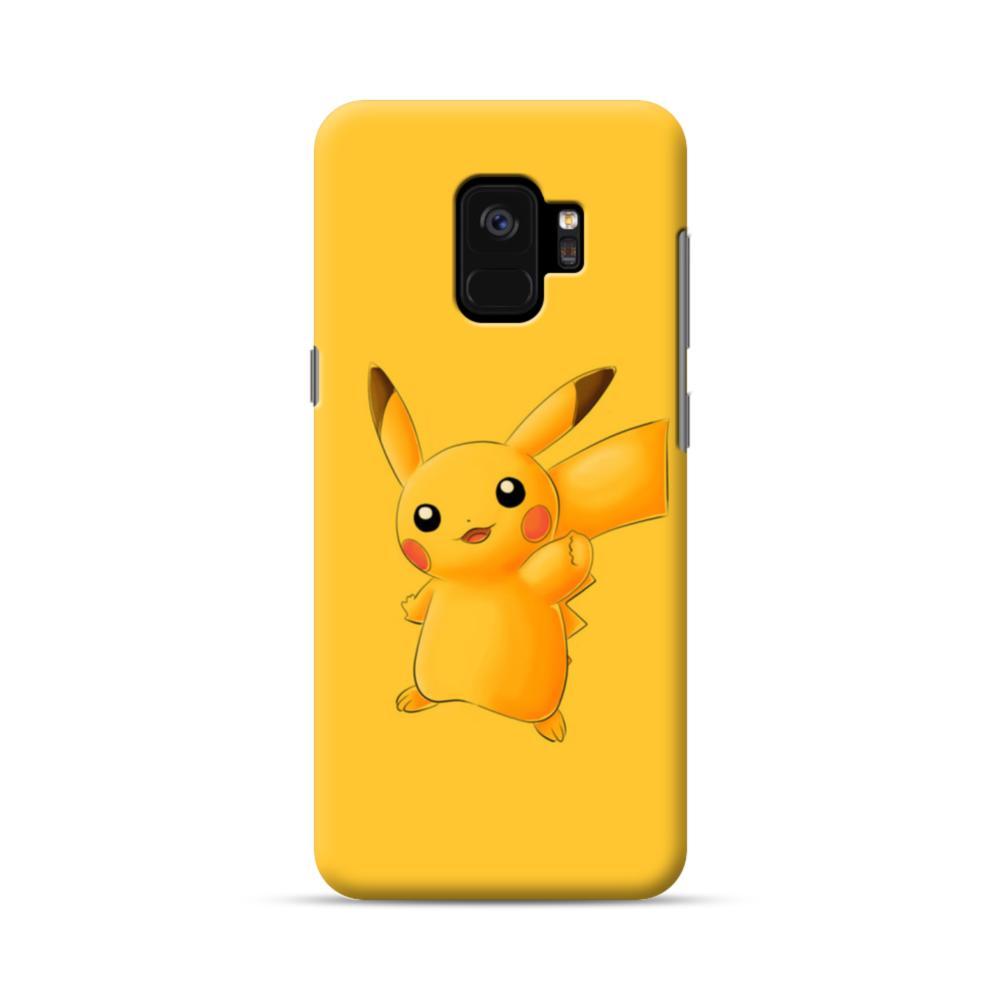 huge discount 6a952 61dfa Pikachu Pokemon Samsung Galaxy S9 Case
