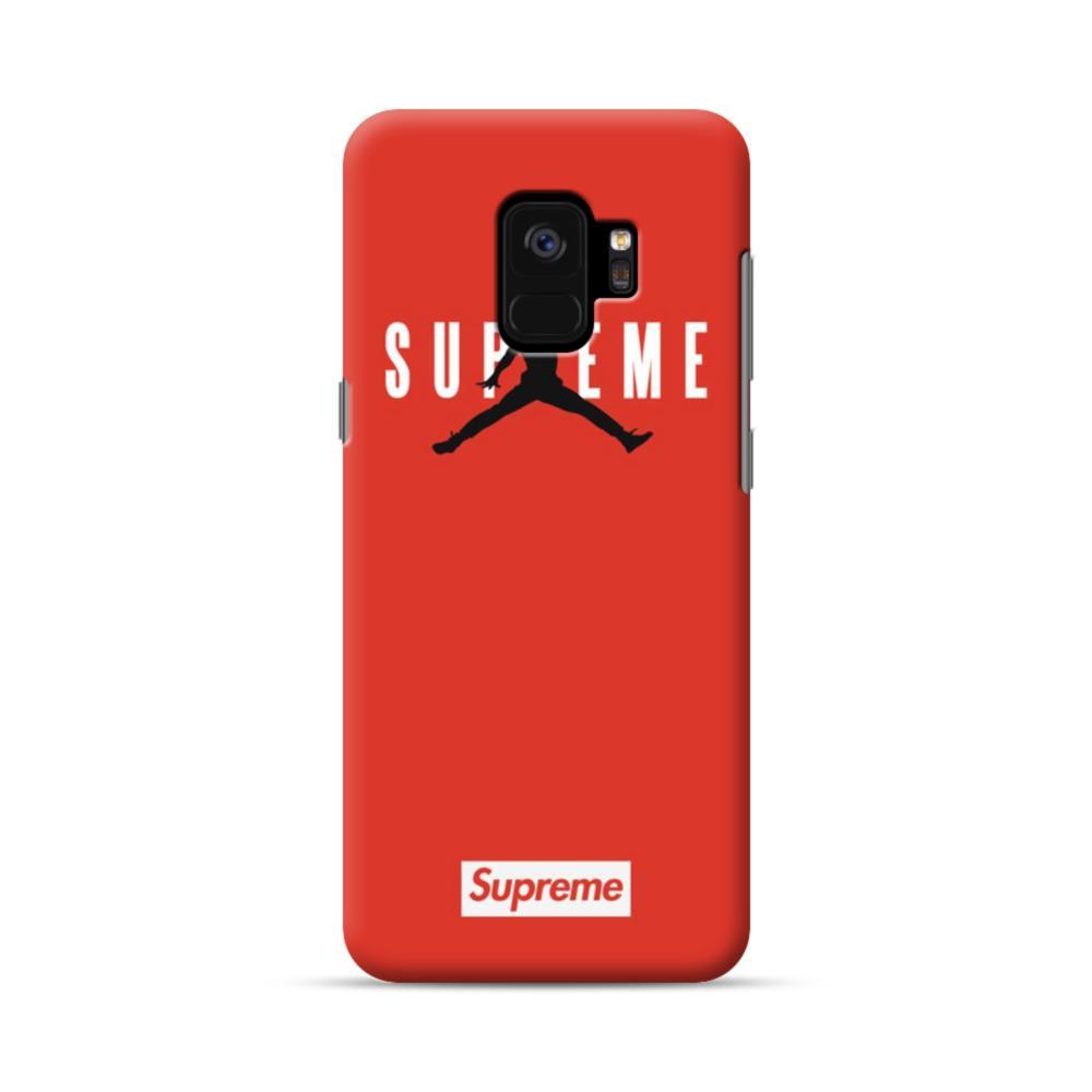 quality design 4f516 f0649 Supreme x Jordan Samsung Galaxy S9 Case