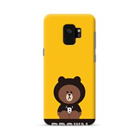 Line Friends Brown Give You Luck Samsung Galaxy S9 Case