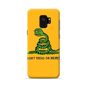 Pepe the frog don't tread on memes Samsung Galaxy S9 Case